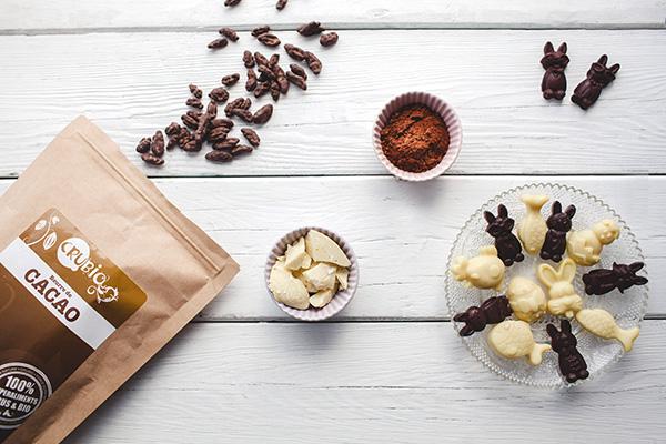 chocolat de paques maison et bio